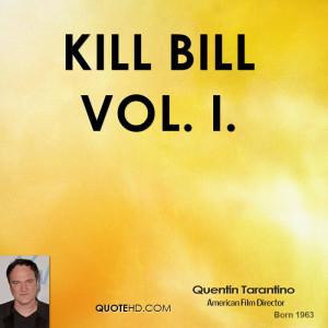 Kill Bill Vol. I.