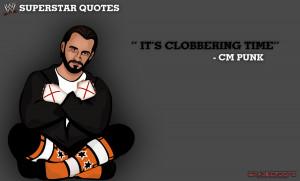 Superstar Quotes - CM Punk by BradleysGFX