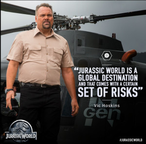 Vincent D'Onofrio plays Vic Hoskins in 'Jurassic World' (Photo ...