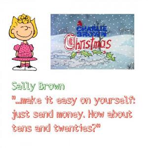Sally Brown A Charlie Brown Christmas