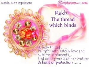 ... Rakhi , Raksha Bandhan, Brother Sister Pictures, Inspirational Quotes