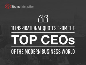11 Inspirational Quotes From Some Of The World's Top CEOs