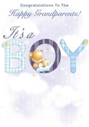 Congratulations On Your New Baby Boy Quotes Congratulations to the ...
