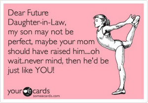 dear future daughter-in-law