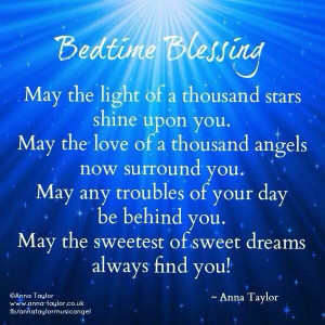 beautiful night time prayer!Bedtime Blessed, Inspiration, Night Quotes ...