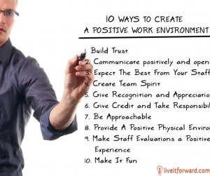 Motivational Monday Question: How do you create a positive work ...