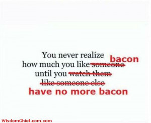 The Sciene Of Bacon Funny Cute Quote