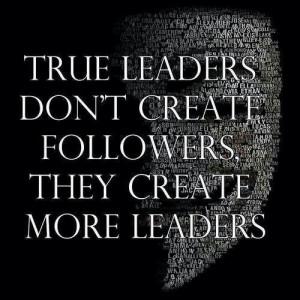 true leaders quote