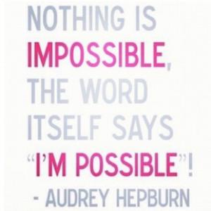 Ever optimistic :D