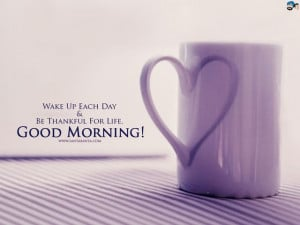 Top 20+ Good Morning Quotes and Sayings