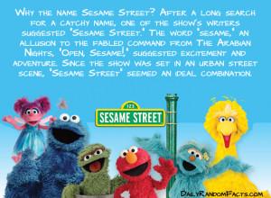 Seasame Street Facts- Sesame Street copy