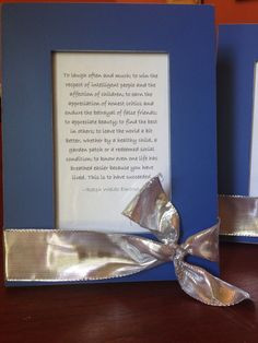 Meaningful yet inexpensive teacher or principal gift. This is an ...