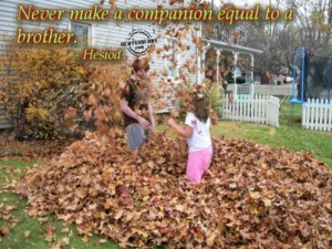 Quotes About Brothers And Sisters Growing Up Growing up together 7 ...