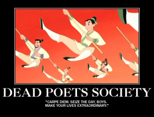 Famous Walt Disney Quotes: Dead Poets Society