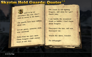 Skyrim Quotes Skyrim quotes skyrim guard
