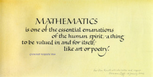 MathematicsPage