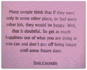 Dale Carnegie #happiness