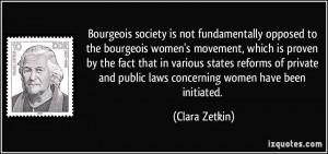 More Clara Zetkin Quotes