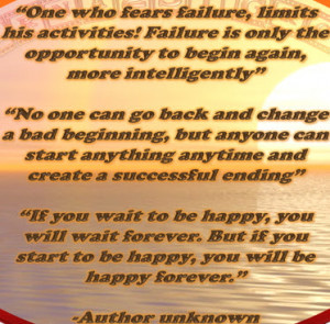 July 18, 2012 – Inspirational Thoughts For Today July 18, 2012