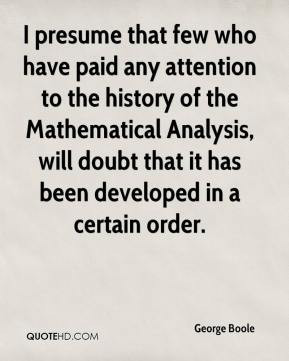 George Boole Quotes