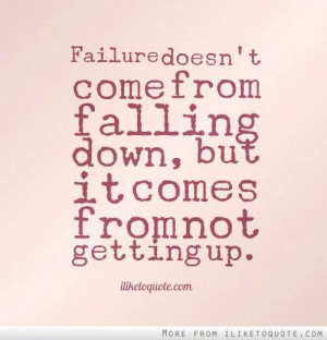 Fall down get up