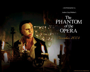 Our 7 year old and The Phantom of the Opera Musical
