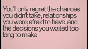 Quotes #Regret Quotes #Relationship Quotes #Love Quotes