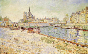 paul signac notre dame l île saint louis description paul