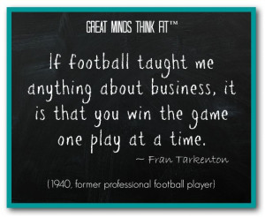 Fran Tarkenton Quote