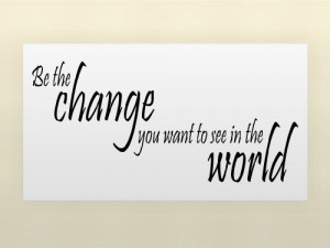 ... THE WORLD Vinyl wall qoutes Inspirational sayings home art decor decal