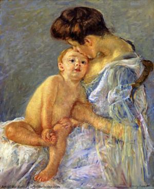 Mary Cassatt, Motherhood - 1906