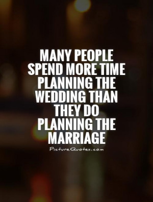 Wedding Planning Quotes