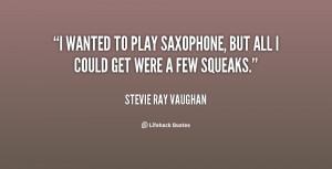 Saxophone Quotes