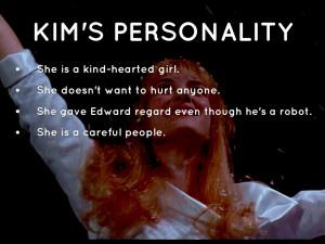 Kim Edward Scissorhands Quotes