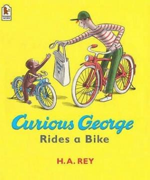 curious george rides a bike h a rey curious george rides his bike ...