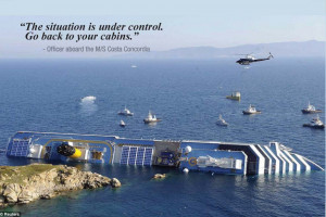 ... after Costa Concordia, Cruise Lines Still Struggling to Sell Cruises