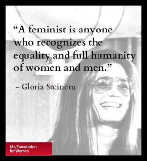 Gloria Steinem: