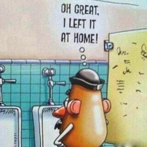 LOL funny toy story comic mr. potato head
