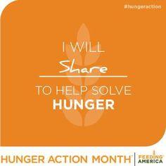 hunger action mom fight feeding america mark national fight hunger ...