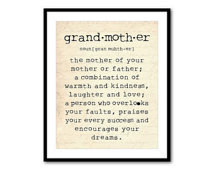 ... grandmother is a person Grandmother Quote Inspiration - Typography