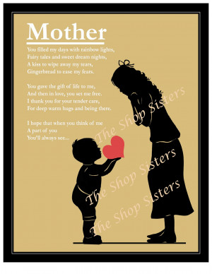 Back > Quotes For > Mother And Son Poems