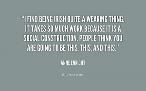 Being Irish Quote