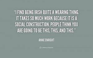 Being Irish Quote