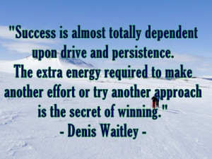 Persistance and Achievement Go Hand in Hand