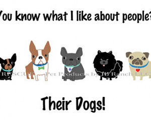 , Funny Dog Quote A rt Print, Digital Art Print Wall Decor, Dog Wall ...