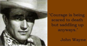 John Wayne was 6'4, wore a toupee, and smoked six packs of ...