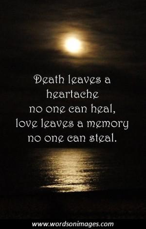 famous sympathy quotes for death