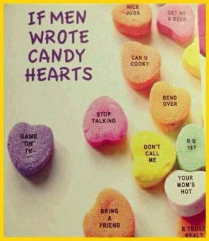 Guys' romantic valentines wishes....