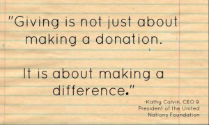 Quotes About Giving Back to the Community
