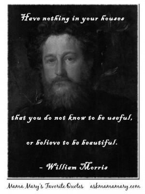William_Morris_Quote